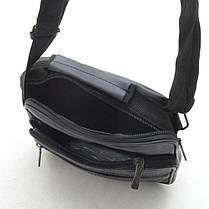 Мужская сумка 8006 черная, фото 3