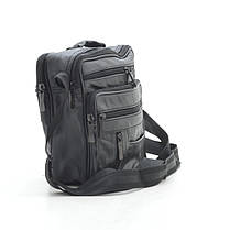 Мужская сумка 8014-4 черная, фото 2