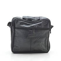 Мужская сумка 8014-4 черная, фото 3
