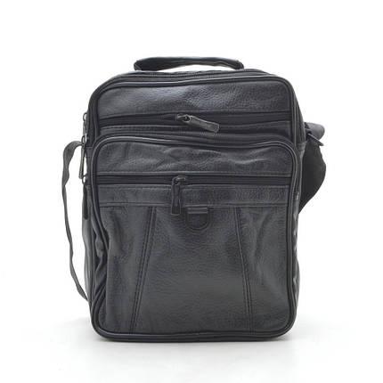 Мужская сумка 8009-4 черная, фото 2