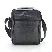 Мужская сумка 8009-4 черная, фото 3