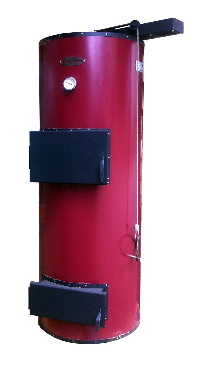 Бытовые твердотопливные котлы длительного горения PlusTerm 12 кВт