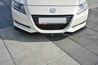 Диффузор переднего бампера юбка сплиттер тюнинг Honda CR-Z Тип 1