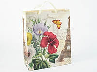 Подарочный пакет парижская весна, Подарунковий пакет паризька весна, Подарочные пакеты