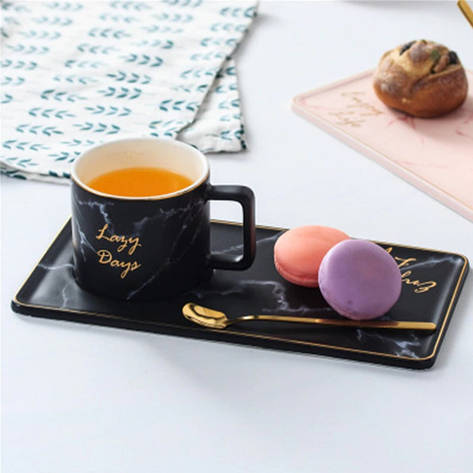 Кофейно-чайный набор 3 предмета (керамика) 3016-27, фото 2