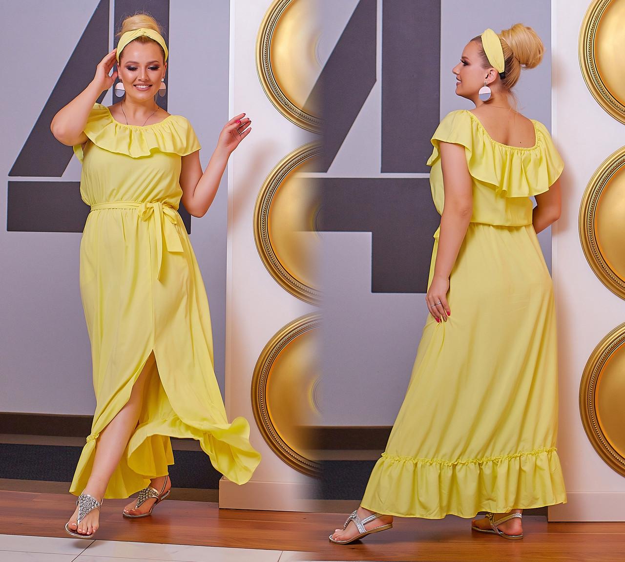 Платье женское 0127пт батал