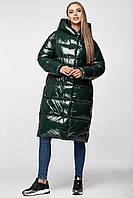 Зимняя теплая куртка KTL-323 из новой коллекции KATTALEYA темно-зеленого цвета