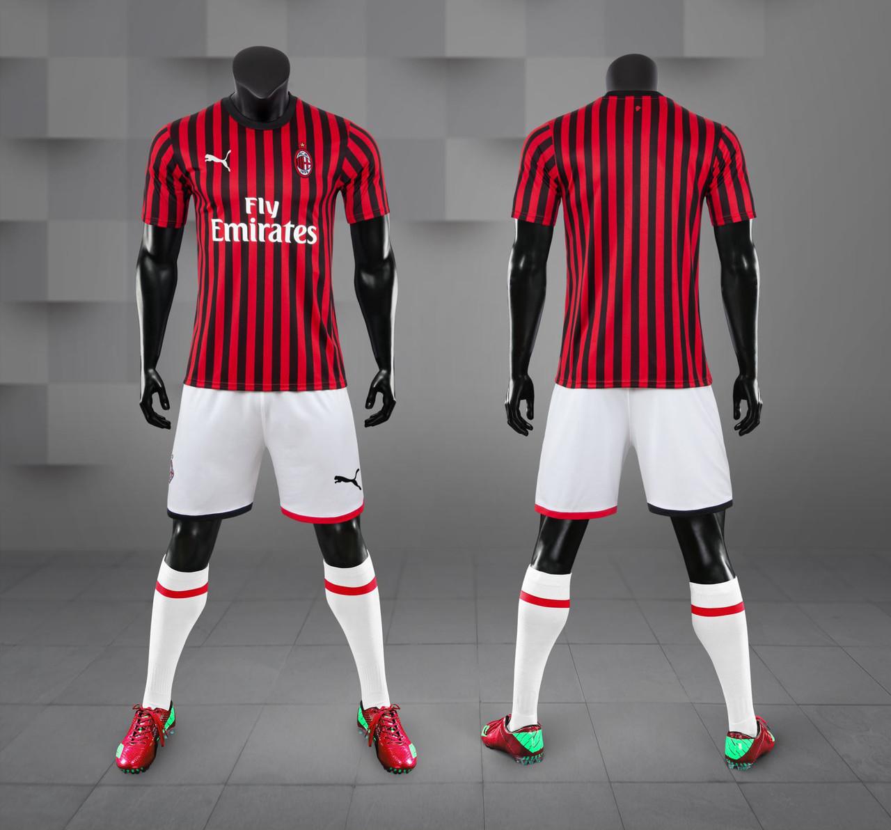 Футбольная форма Милан домашняя  2019/20