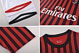 Футбольная форма Милан домашняя  2019/20, фото 8