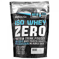 Протеин BioTech Iso Whey Zero 500 г  пина колада