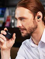 Беспроводные миниатюрные наушники Bluedio T-elf mini Air pod Bluetooth 5.0 Black, фото 7