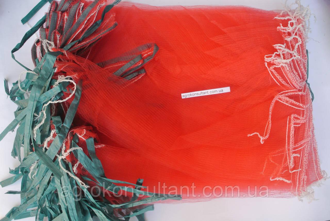 Мешки от ос на виноград красные 5 кг, 28*40 см (сетка-мешок для винограда). От ос, мошек и др. насекомых!!!