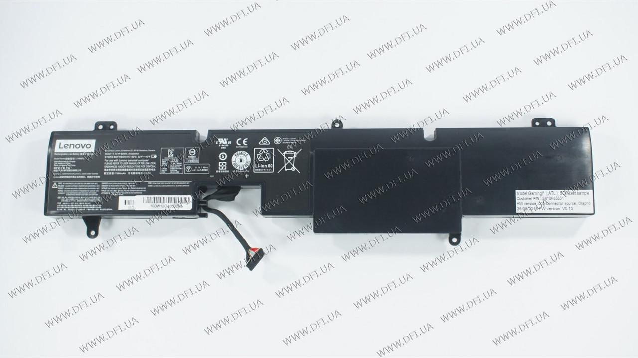 Батарея для ноутбука Lenovo L14M6P21 (IdeaPad Y900-17ISK) 11.1V 8100mAh 90Wh Black