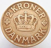 Дания 2 кроны 1925