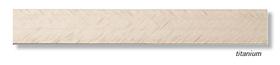 Алюминиевый профиль Profilpas Cerfix Prolist X Design, декоративная накладка для плитки 7*25*2700мм. Титан