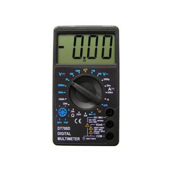 Цифровой мультиметр DT700C (со звуком+температура)