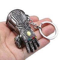 Брелок на ключі SUNROZ Thanos Glove рука Таноса Срібний (SUN4812)