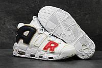 Кроссовки мужские в стиле Nike Air More Uptempo 96 код товара SD1-5691. Белые с золотом