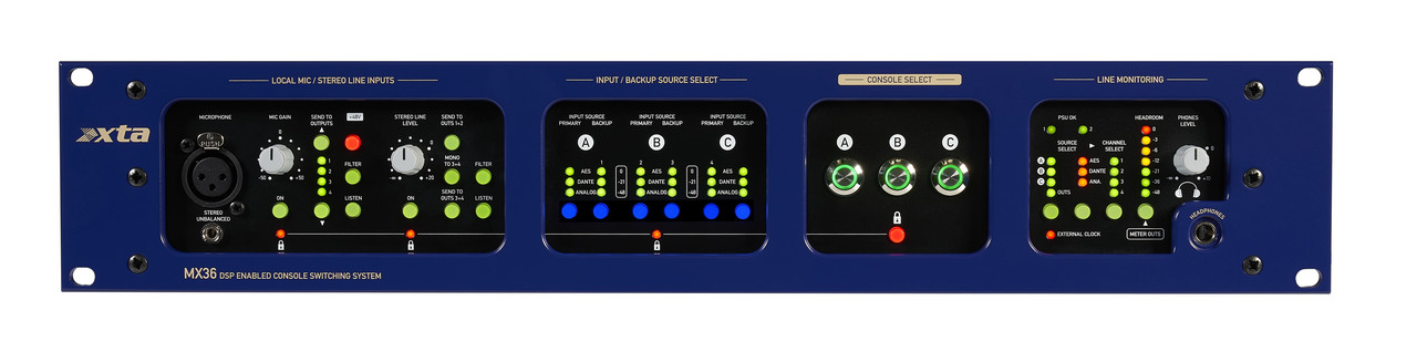 Система подключения и переключения между консолями XTA Electronics MX36