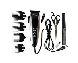 Профессиональная Машинка для стрижки волос DOMOTEС DT-4604 с насадками