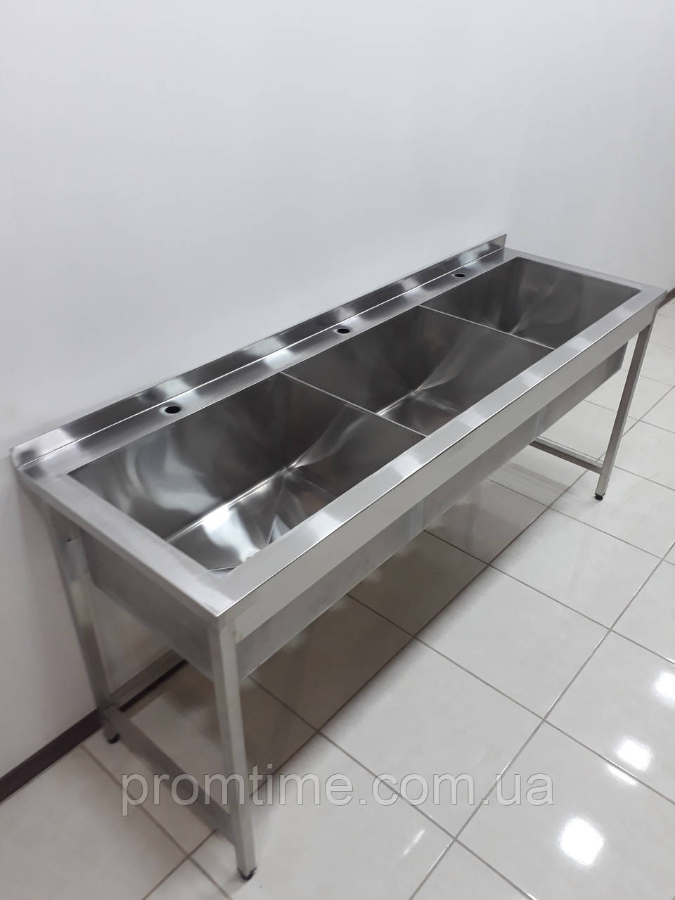 Ванна моечная из нержавеющей стали 1900х600х850