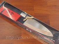 Купить нож кухонный японский KAI (Kershaw) Shun Wasabi Deba 150мм