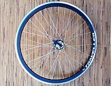 Вело колесо 24  заднее под кассету под дисковый тормоз