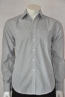 Рубашка серая 42 рзм.