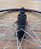 Вело колесо 24  заднее под кассету под дисковый тормоз, фото 3