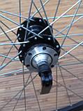 Вело колесо 24  заднее под кассету под дисковый тормоз, фото 4