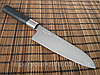 Нож сантоку кухонный японский KAI (Kershaw) Shun Wasabi Santoku 165мм
