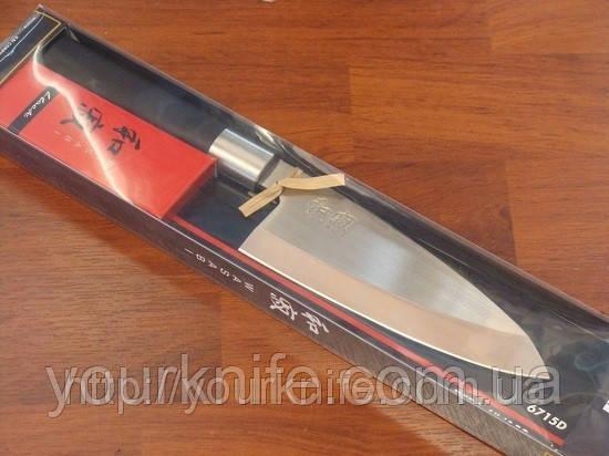 Нож деба кухонный японский KAI (Kershaw) Shun Wasabi Deba 150мм