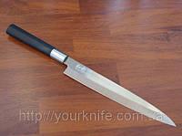 Нож янагиба кухонный японский KAI (Kershaw) Shun Wasabi Yanagiba 210мм