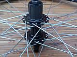 Вело колесо 24  заднее под кассету под дисковый тормоз, фото 5