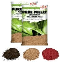 Прикормка на основе палтусового пеллетса Pure Pellet Groundbait, 800g  (Черный)
