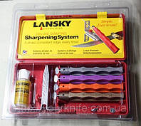 Точильнуая система Lansky Deluxe Diamond Knife Sharpening System