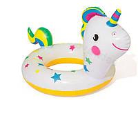 Детский надувной круг Bestway 36128 «Единорог», 79 х 58 см   надувной круг для детей