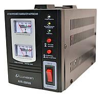 Стабилизатор напряжения Luxeon AVR-500 VA (черный), фото 1