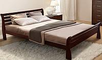 Двуспальная кровать Ретро (ольха)