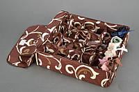 Органайзер для белья с крышкой 24 отделения Мокко