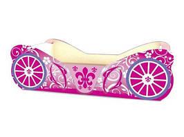Кровать-карета Viorina-Deko. Кровать карета для девочки. Кровать для девочки.