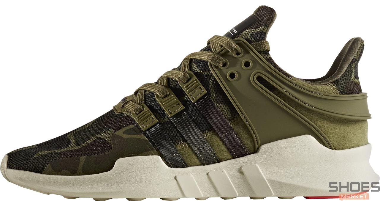 Мужские кроссовки Adidas EQT Support ADV Camo Olive BB1307, Адидас ЕКТ
