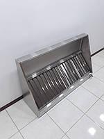 Вытяжной зонтс жироулавливателями1400х800х400, фото 1
