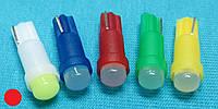 Светодиодные лампочки для панели приборов Т5 красный цвет