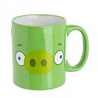 Чашка Angry Birds салатовая