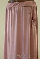 Стильная батальная юбка из хлопка на лето  модных расцветок