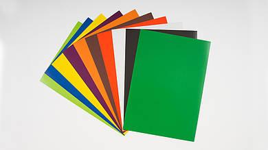 Набор цветного картона. 10 листов A4. ТЕТРАДА - ТЕ249