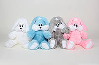 Мягкая игрушка - Зайчик Снежок 100 см