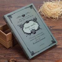 Записная книжка, дневник MAGIC SPELLS Grey A5 M14