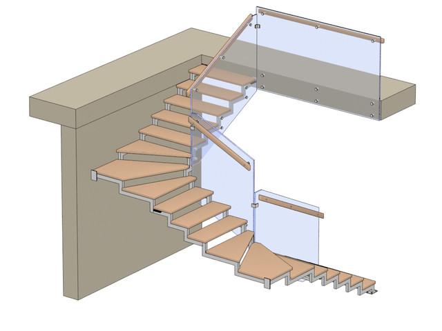 Типовые конфигурации лестниц